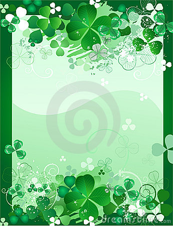 Free Design With Leaf Clover Stock Photo - 17790480