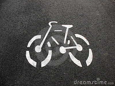 Designation of a bicycle path