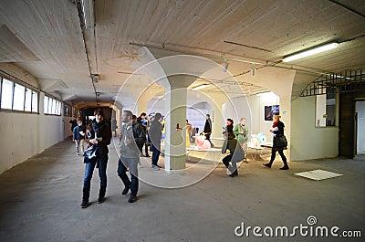 Designblok 2013 in Prague Editorial Photo