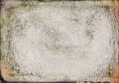 Designed background/frame