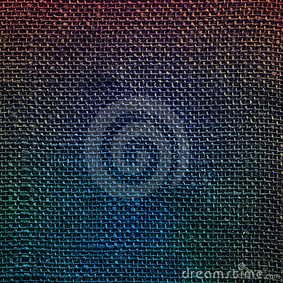 Designed linen fabric background