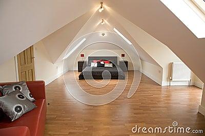A designer bedroom