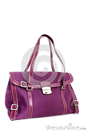 Free Designer Fuschia Purse Stock Photo - 10868060