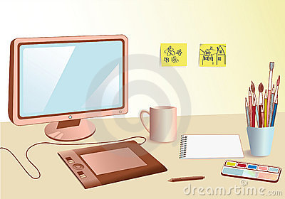Designer workplace