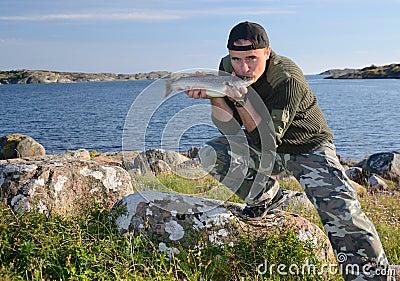 Desired fishing trophy