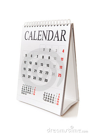 Free Desk Calendar Stock Photography - 19870712