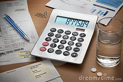 Desk Debts Bills Calculator