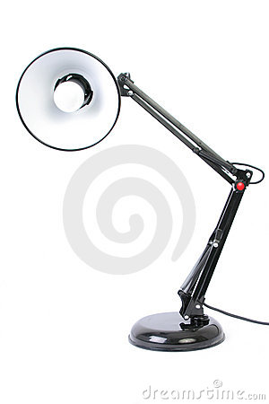Free Desk Lamp Stock Image - 1570701