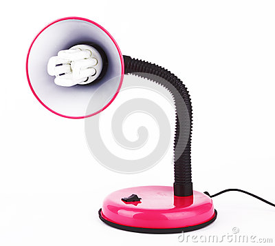 Free Desk Lamp Royalty Free Stock Photography - 25927077