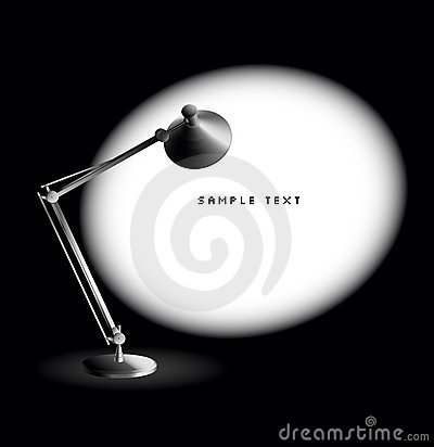 Free Desk Lamp - Vector Stock Images - 7198214