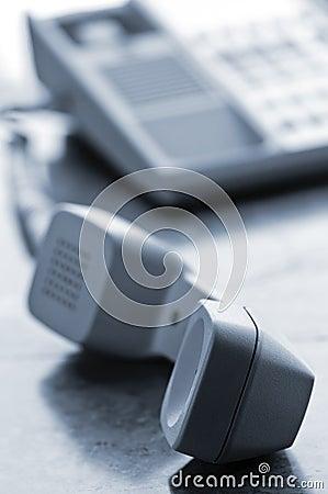 Free Desk Telephone Off Hook Royalty Free Stock Image - 13198326