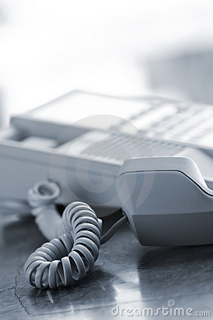 Free Desk Telephone Off Hook Royalty Free Stock Photography - 14586047