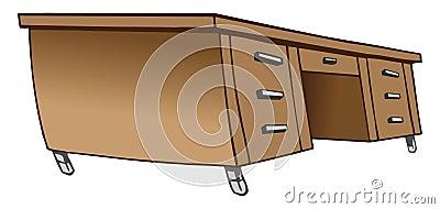 Desk wooden