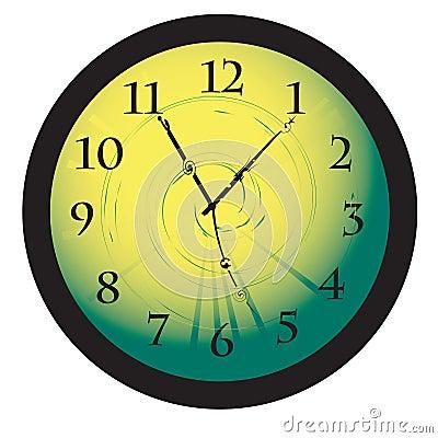 Desktop clock concept