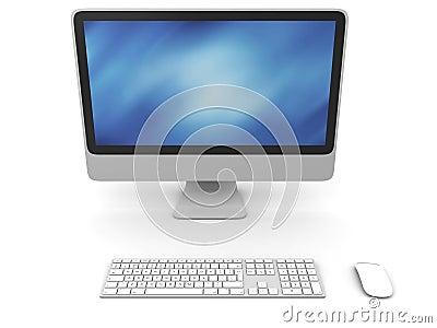 Desktop computer Editorial Stock Image