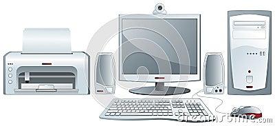 Desktop computer configuration