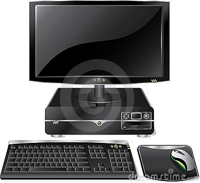 Free Desktop Pc Royalty Free Stock Images - 10312659