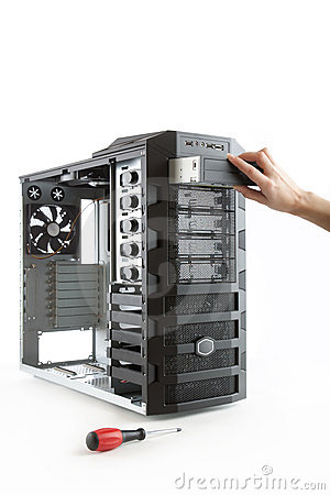 Free Desktop PC Computer Case Stock Image - 11939041