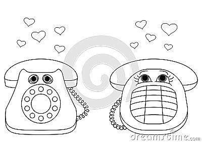 Desktop phones enamoured, contours