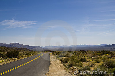 Desolate Desert Road 01