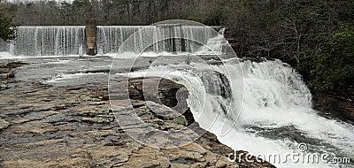 DeSoto Falls in Alabama