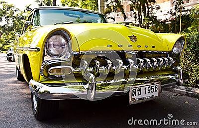 DeSoto op de Uitstekende Parade van de Auto Redactionele Fotografie