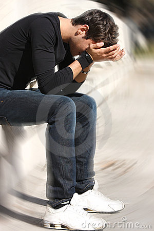 Free Desperate And Sad Boy Problems Teens Royalty Free Stock Photo - 8366435