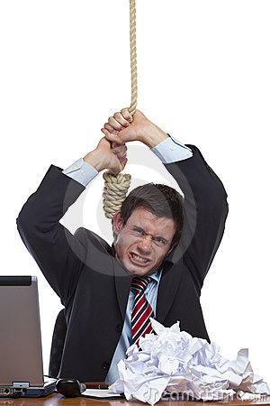 Desperate Business man commits suicide in office