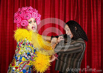 Desperate Drag Queen with Man