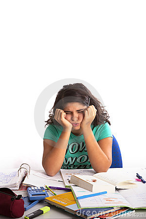 i have a lot of homework On top of the effects homework can have on students, it can also  with  homework, the material taught in school has changed a lot over the.