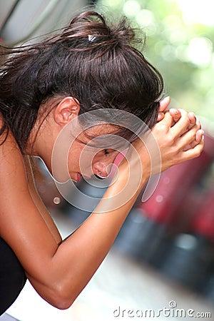Free Desperate Girl / Teen Problems Stock Photo - 3346790