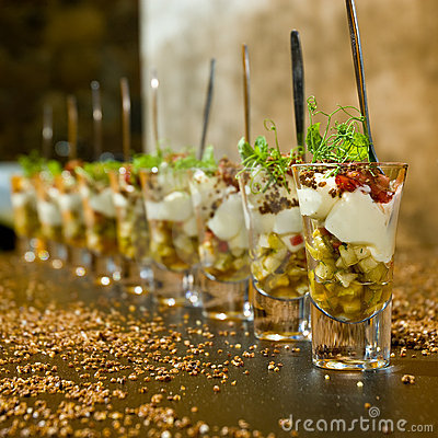 Dessert élégant