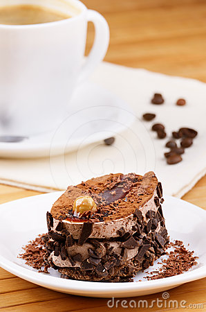 Dessert Cake And Coffee Royalty Free Stock Images - Image: 24587589