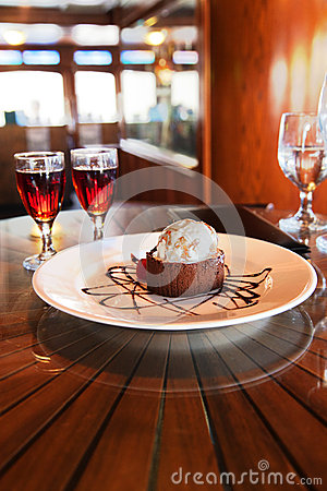 Dessert and Cognac
