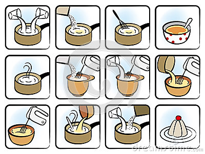 Dessert Cooking Icons