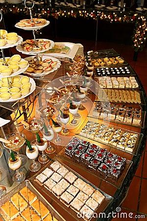 Free Dessert Corner Buffet Stock Image - 15191461