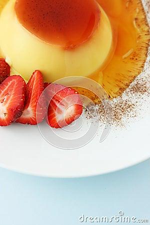 Free Dessert; Creme Caramel Royalty Free Stock Image - 321526