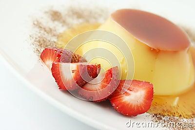 Dessert; Creme caramel