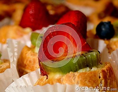 Dessert de fraise