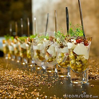 Dessert elegante