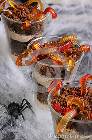 Free Dessert For Halloween Royalty Free Stock Photo - 66623825