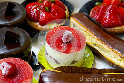 Dessert french food
