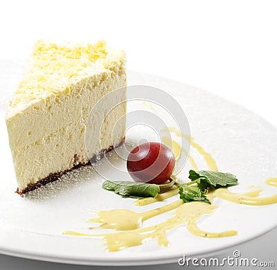 Dessert - Lemon Cheesecake