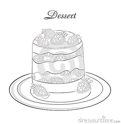 dessert menu template stock image image 25941031. Black Bedroom Furniture Sets. Home Design Ideas