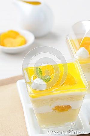 Dessert - Orange cake