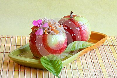Dessert Picture : Candy Apples - Stock Photos