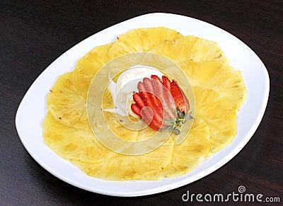 Dessert pineapple