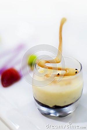 Dessert (Pistachio Semifreddo)