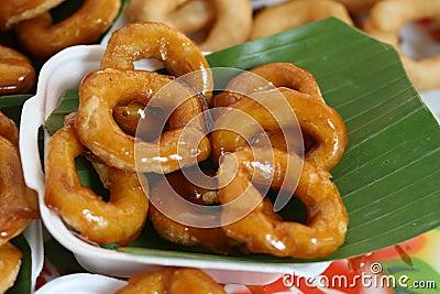 Dessert thai donut