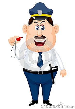 Dessin anim de policier photos libres de droits image - Dessin policier ...